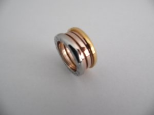 Bulgari Statement Ring silver-colored stainless steel