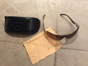 Bulgari Oval Sunglasses gold-colored-brown