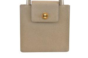 Bulgari Handbag beige leather