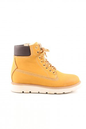 Bullboxer Ankle Boots hellorange Casual-Look
