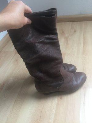 Bullboxer Boots braun Wildleder 36
