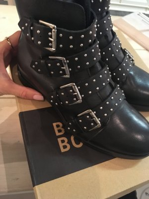 Bullboxer Boots gr 37 schwarz neu