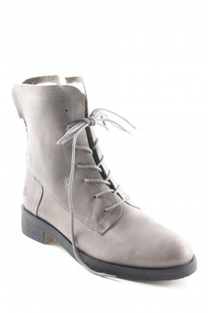 Bullboxer Chelsea Boot gris Look de motard