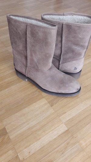 Bullboxer Botas de nieve marrón arena Cuero