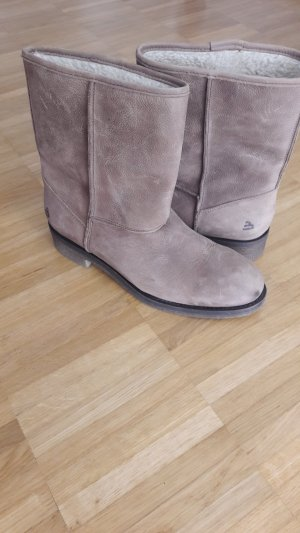 Bullboxer Snow Boots sand brown leather
