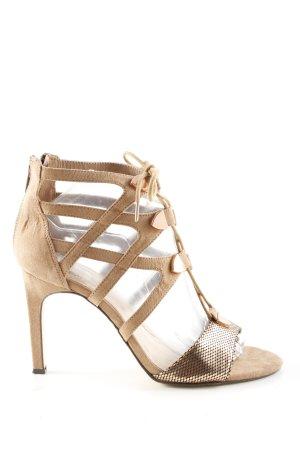 Bullboxer High Heel Sandal nude-gold-colored elegant
