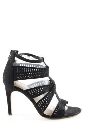 Bullboxer High Heel Sandal black casual look