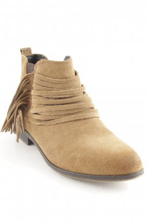 Bullboxer Short Boots sand brown Boho look