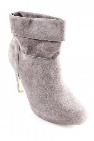 Bullboxer Zipper Booties taupe casual look