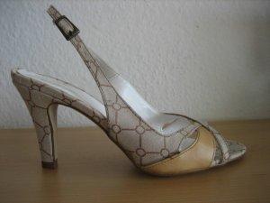 bullboxer sandalen business buero neu beige gr. 38