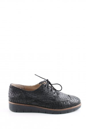 Bullboxer Lace Shoes black casual look