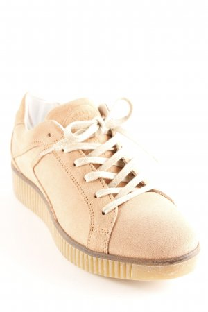 Bullboxer Schnürsneaker apricot Casual-Look