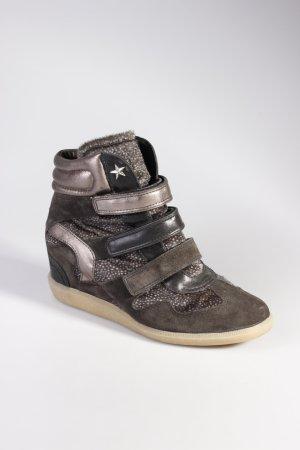 Bullboxer Sneaker Wedges anthrazit
