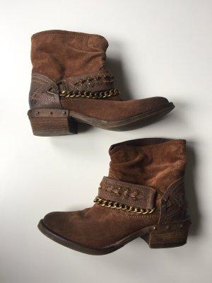 BULLBOXER Stiefeletten, Boots, Ankle Boots, Bikerboots, Gr.: 38