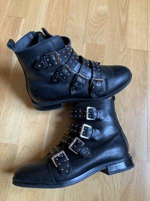 Bullboxer Zipper Booties black