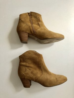 Bullboxer Booties beige-brown