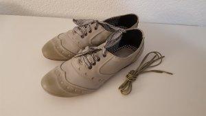 Bullboxer Vintage Schnürschuhe Halbschuhe Größe 38 NEU