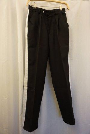 Bundfalten-Hose, Trachtenhose, Anzughose, schwarz, Gr. 36 / S, NP 99€