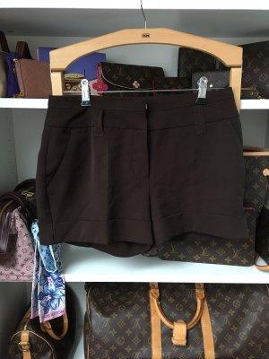 Orsay Shorts marrón oscuro