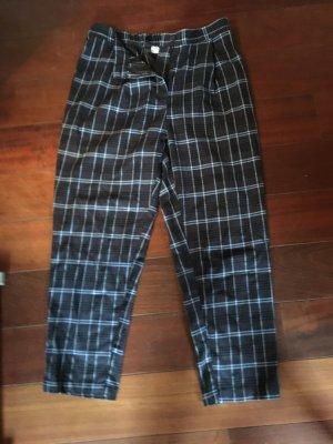 H&M Pantalon à pinces bleu foncé