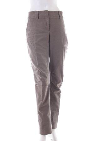 Pantalone a pieghe grigio-verde