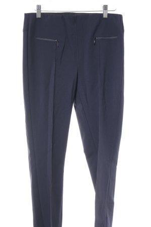 Pantalon à pinces bleu foncé style d'affaires