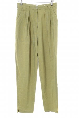 Pleated Trousers grass green