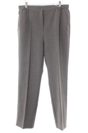 Pantalon à pinces gris style d'affaires