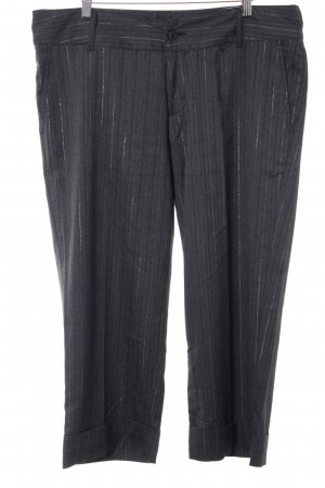 Pantalon à pinces gris-argenté style d'affaires