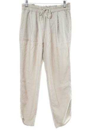 Pantalone a pieghe marrone-grigio stile casual