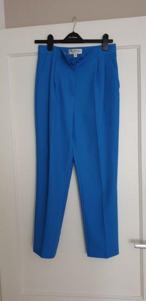 Miss Selfridge Pantalone a pieghe blu neon