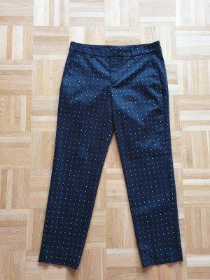 Zara Woman Pantalon à pinces blanc-noir