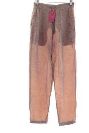 Pantalon à pinces or rose style mode des rues