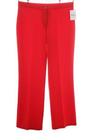 Pantalon à pinces rouge élégant
