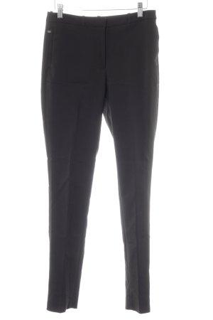 Pantalon à pinces noir style d'affaires