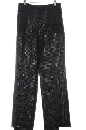 Pantalon à pinces noir élégant