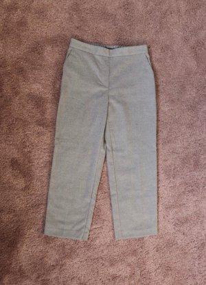 Bundfaltenhose von Zara aus Wolle Größe M 38