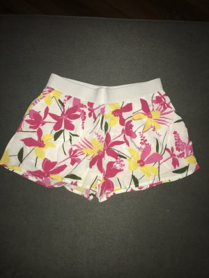 Bunt geblümte Shorts von H&M