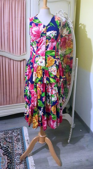 Vintage Robe Hippie multicolore