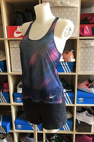 Bunt gemustertes Nike Sport Top S