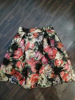 Falda circular multicolor