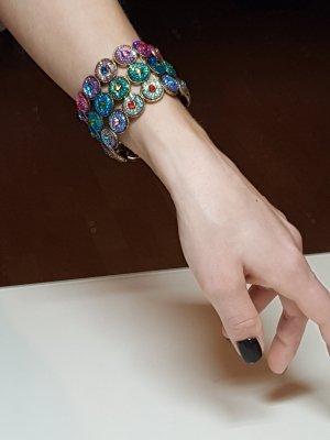 bunt glitzerndes Armband