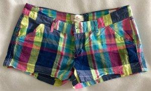 Bunt Karierte Hollister Shorts