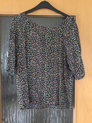 Bunte 3/4 lange Bluse