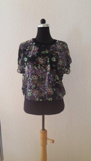 Bunte Bluse von Zara