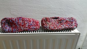 Chaussons multicolore