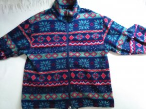 Fleece Jackets multicolored