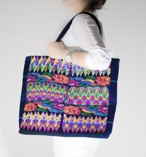 Borsa shopper multicolore