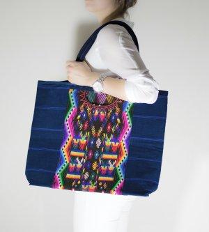 Bolsa de hombro multicolor