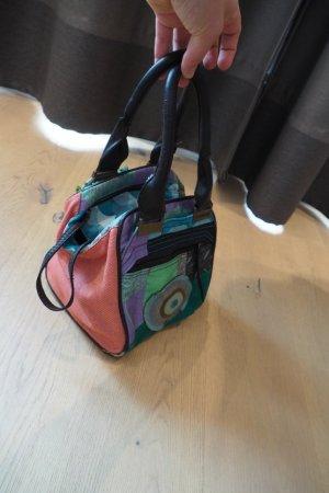 bunte Handtasche im Patchwork Stil